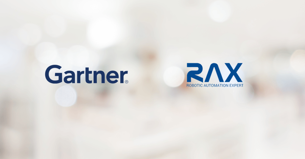Gartner recognizes RAX Automation Suite in the Competitive Landscape- RPA Software Report
