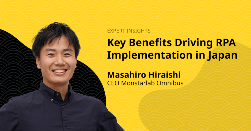 Key Benefits Driving RPA Implementation in Japan